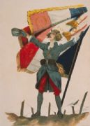 Vintage WW1 French poster - Vive la France!